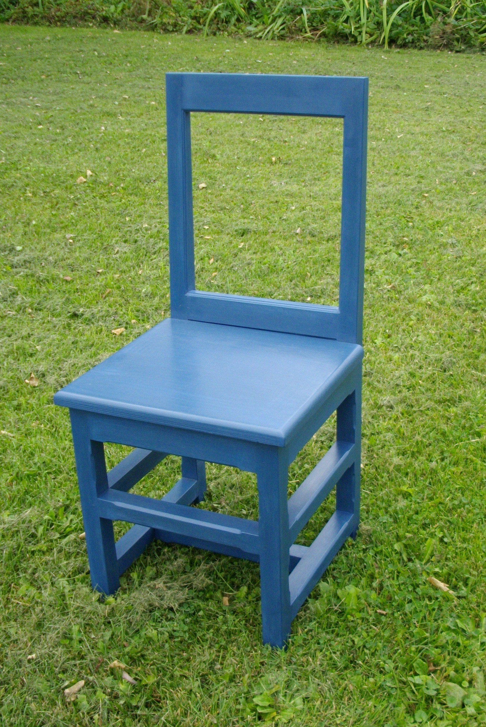 Chaise de type ile d orl ans i luc martin b niste for Hauteur d une chaise